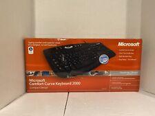Microsoft Comfort Curve 2000 B2L00002 Wired Keyboard