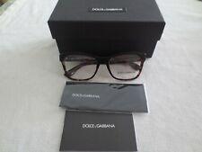 Dolce & Gabbana glasses frames. DG 3273. Black or brown tortoiseshell. New.