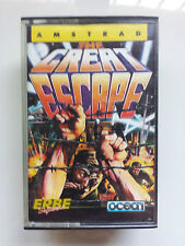 THE GREAT ESCAPE - AMSTRAD CPC 464 CASSETTE / ERBE - OCEAN - DENTON DESIGNS