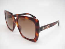53abd65059b New Authentic Gucci GG0418S 003 Havana with Brown Gradient Sunglasses GG  0418S