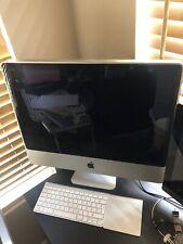 Mac Desktop And Keyboard