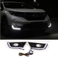 Fog light Daytime Running Light DRL LED Day Light For Honda CR-V CRV 2017 - 2019