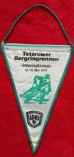*RAR* Wimpel Teterower Rennen 1975 ADMV DDR Motorsport Krad MZ Simson Teterow