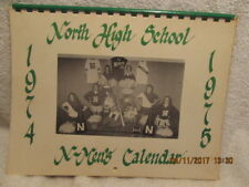 1974-75 Calendar North High Letterman Club Evansville IN Students' Pin-Up Photos