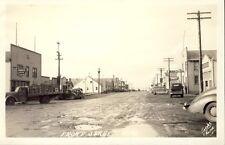NOME ALASKA FRONT STREET RPPC Postcard c1940 JACOBS Photo