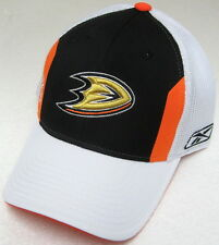 NHL Anaheim Ducks Multi-Color Structured OSFA Mesh Back Fitted Hat By Reebok