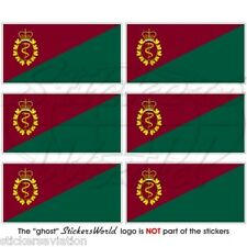 CANADA Canadian Forces Medical Services Flag, Mobile Cell Phone Mini Stickers x6