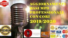 BASI MUSICALI-KARAOKE MP3 CORI-AGGIORNAMENTI 2019/2020 PROFESSIONALI + SANREMO