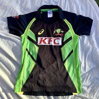 AUTHENTIC ASICS AUSTRALIA T20 2015/16 CRICKET JERSEY. SIZE 14