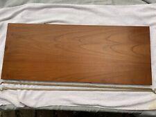 Ladderax teak shelf long Deep 89cm x 35.5cm with 2 support bars (29F)