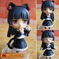 """Anime ORE NO IMOUTO Oreimo Kuroneko Nendoroid 144 4"""" PVC Action Figure Toy NIB"""