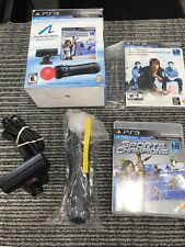 Sony PS3 Move Motion Navi Controller PlayStation Camera Sports Champions Bundle