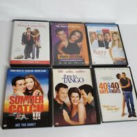 DVD Lot of 6 Date Night Movies Most PG 13 Three to Tango Summer Catch