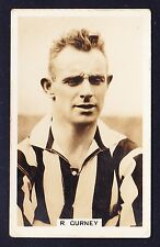 John Scerri INTERNATIONAL FOOTBALLERS 1935 #2 Gurney SUNDERLAND *VG Condition*