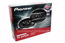 "New Pioneer TS-A6966R 420 Watts 6"" x 9"" 3-Way Coaxial Car Audio Speakers 6x9"""