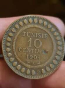 10 Cents From Tunisia 1904