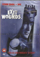 EXIT WOUNDS - Steven Seagal, DMX, Jill Hennessy, Tom Arnold (NEW/SEALED DVD '01)
