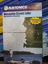 Navionics Fishing Boating Map Chart GPS Points Guide Mosquito Creek Lake PM5104