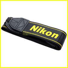 Tracolla originale Nikon per fotocamere reflex digitali. Nuova. Genuine strap.
