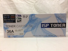 ISP Toner Cartridge Laser Printer 36A P1505 CB436A Print High Volume ISO 400 900