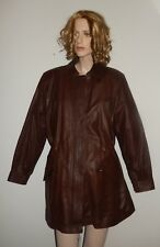 LEATHER JACKET BROWN WOMEN'S JACKET  NEW