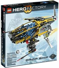 Lego Bionicle Hero Factory 7160 Drop Ship Factory Sealed box 394 Pieces 2010 New