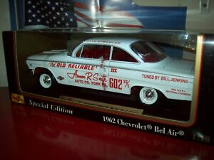 1:18 Chevy Bel Air 409 NHRA Super Stock Drag Car Dave Strickler in the box New
