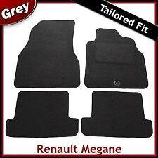 Renault Megane Coupe Cabriolet Tailored Carpet Car Mats GREY (2004...2008 2009)