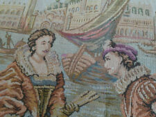 Antique Belgium tapestry Venice 37-20 inches owned by actress