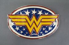 Wonder Woman Logo Metal Belt Buckle DC Comics Collectible Cosplay