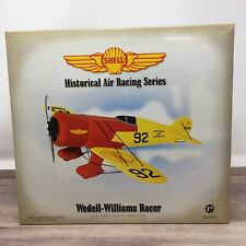 SHELL GAS & OIL WEDELL-WILLIAMS RACER AIRPLANE REGULAR EDITION FIRST GEAR NIB