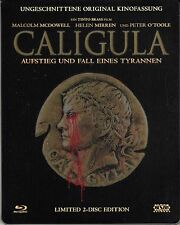 Caligula , 100% uncut , limited Steelbook , Blu_Ray + DVD , Peter O' Toole