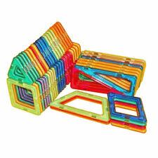 62x ALLE Magnetischen Bausteine Bau Kinder Erleuchten Puzzlespiele Spielzeug