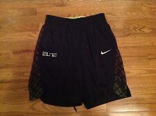 Men's Nike Elite Black Sport Basketball Shorts Medium