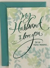 Happy Birthday Husband Card Hallmark Greeting Card Thoughtful And Loving