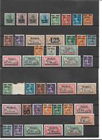 Memel, Litauen, Kleipeda 1920 - 22, Sammlungen aus MiNrn: 1 - 118, ungebraucht *