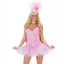 Starline Sequin Pink Showgirl Sexy Womens Costume L 12