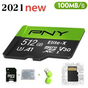 2021 New High Speed 512GB Memory Card USB Micro SD SDHC 10 UHS-1 TF Card reader