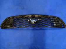 15 16 17 Ford Mustang V6 Base OEM Upper Grille Mesh Chrome Pony Emblem