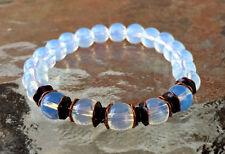 Opalite Opal Handmade Mala Beads Bracelet -Blessed