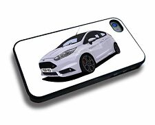 FORD FIESTA ST 200 iPHONE 5/6/7/8/X PERSONALISED CLIP ON COVER