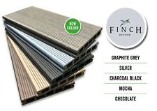 Finch Composite WPC Decking Boards Wood Effect 25 year guarantee sample Box
