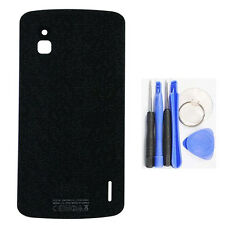 For LG Google Nexus 4 E960 Battery Cover Back Rear Cover Glass Replacment New
