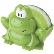 Jo!e msc Schwamm mit Schwammhalter Frosch, grün, Schwammschale, Kchenschwamm