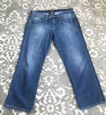 Lucky Brand Summer Sweet N Low Cropped Jeans Women's Size 8/29 Flap Pockets