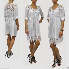 Knielange Langarm Damenkleider im Boho -/Hippie-Stil