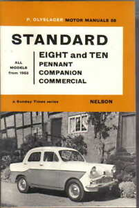 Standard 8 & 10 Pennant, Companion & Commercial from 1953 Olyslager Motor Manual