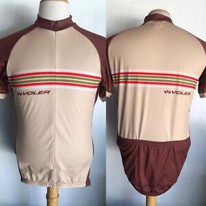 "VOLER Official Men's ""Club Raglan"" 3-Pocket Racing Cycling Jersey Size Medium"