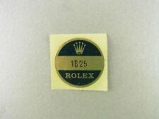 Rolex Turn o graph Case Back Sticker Aufkleber für Deckel Ref 1625 NOS vintage