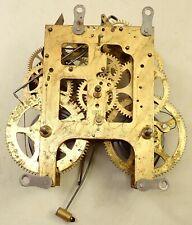 Antique Wml Gilbert 1911 Mantel Shelf Clock Movement Parts Repair